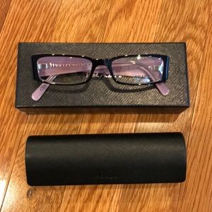Prada Black Glasses